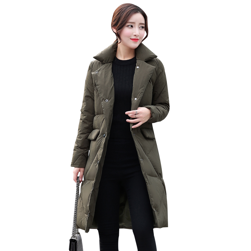 2017 Top Brand New Parkas Female Women Winter Coat Thick Cotton Jacket Outwear Fashion Long Coat High Quality Oversize