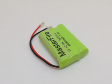 MasterFire 10PACK/LOT New Ni-MH AAA 3.6V 800mAh NiMH Rechargeable Battery Pack With Plugs For Cordless Phone Batteries