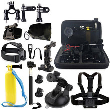 лучшая цена 17 In 1 Professional Accessories Set Bundle for GoPro HD Hero 7/6/5/4/3/3+/2/1 Action Sports Camera
