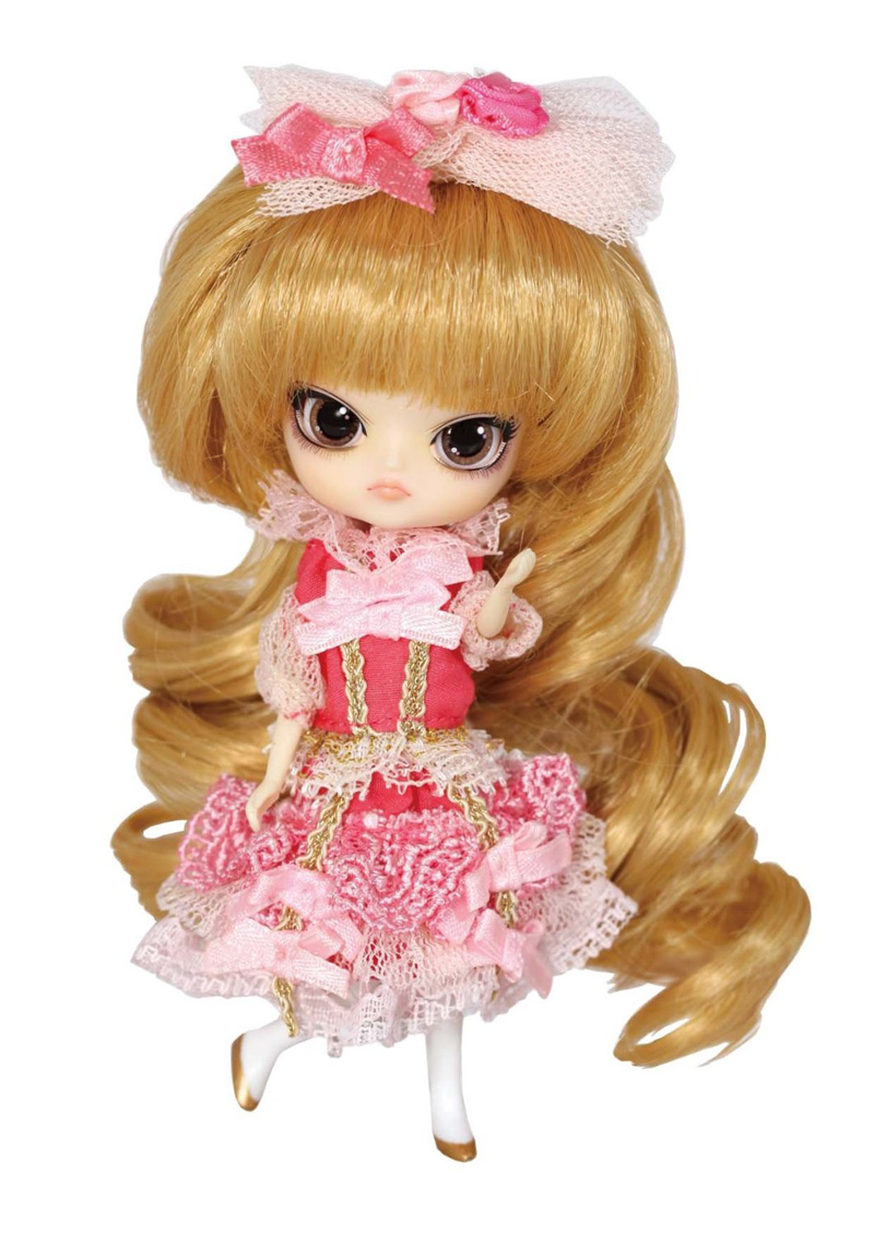 LITTLE PULLIP PRINCESS Pinky with box and beautiful dress mini doll girl gifts lovely toy кукла pullip gosomi isul