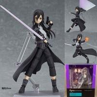 15CM Sword Art Online Kirito Girl Figma 248 Anime PVC Action Figure Collection Model Toy