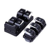 OEM chrome switch Electric control switch + electric window switch  Pour A4 S4 B8 Q5 8K0 959 851 D 8KD959851A 4GD 959 855