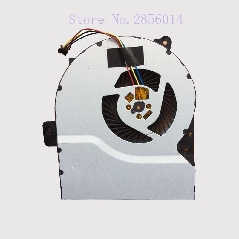 Laptop CPU Cooler Fan For Asus X751 X751M X751MA CPU Cooling Fan laptop cpu cooling fan cooler for lenovo b5400a ith ifi b50 70a b5400 m4500 ksb0505hb da2l bata0710r5h pn01 ab07405hx090b00
