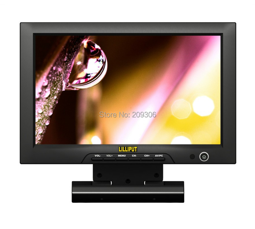 LILLIPUT FA1013-NP/H/Y 10.1 Desktop TFT LED Camera PC HDMI Monitor with HDMI YPbPr AV Input VESA bracket stand