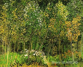 Best Art Reproduction The Grove Vincent Van Gogh Painting for sale hand painted High quality