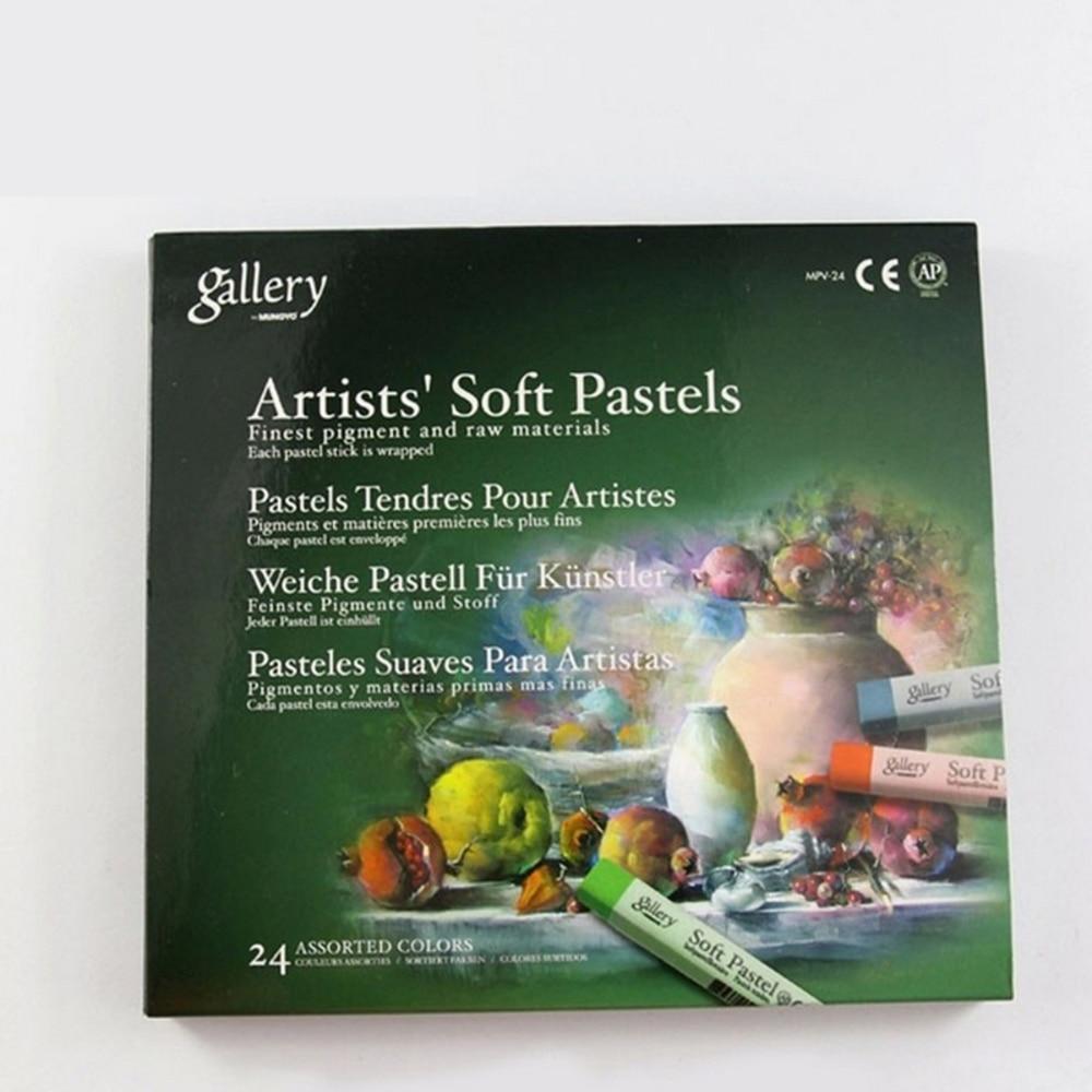 Seturi de desen pastelate Soft Set de arta Set de creioane moi - Materiale școlare și educaționale - Fotografie 2