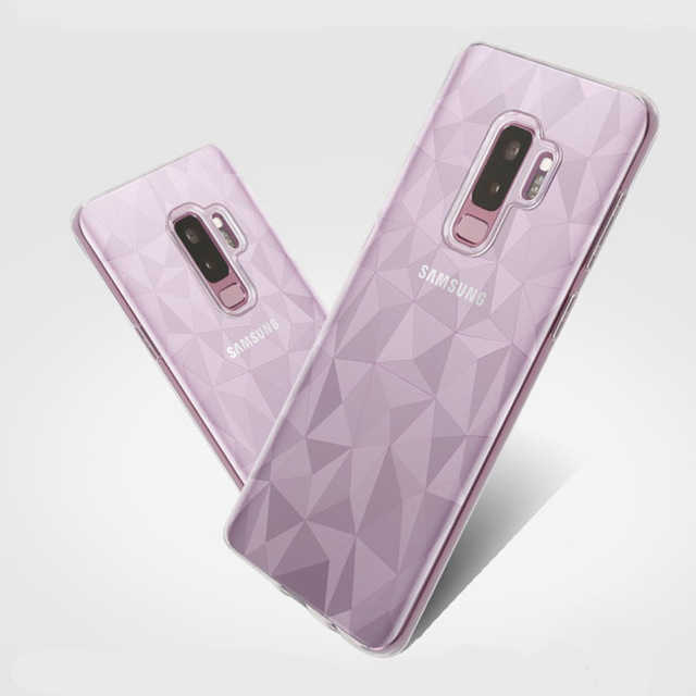 3D Diamond Phone Case For Samsung Galax S8 S9 S10 PLUS NOTE 8 9 10 A7 A6S A8S A30 A50 A40 A70 A10 A20 A60 A10 J2 J6 J4 Cover
