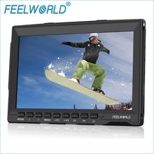 FW759 שדה צג עם לשיא פוקוס 7 Inch HDMI Feelworld 7 אינץ IPS LCD צילום סטודיו אביזרי מצלמה DSLR צגים