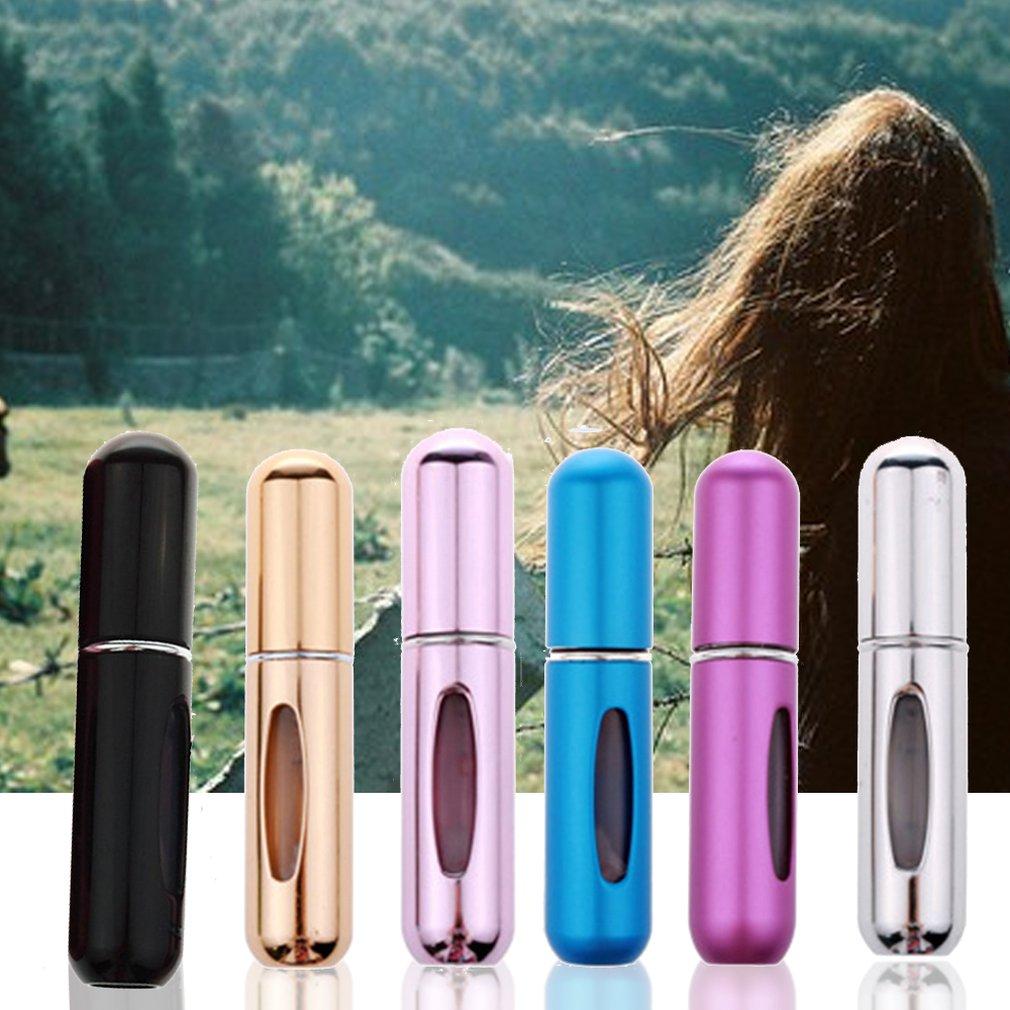 Portable Size 5ML Metal Travel Refillable Mini Perfume Bottle Atomiser Spray Aluminum Perfume Bottle Spray Atomizer