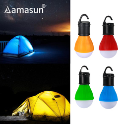 Mini Zelt Licht Outdoor Tragbare Laterne Notfall Glühbirne Wasserdichte Hängen Haken Taschenlampe Für Camping Wandern AAA Powered