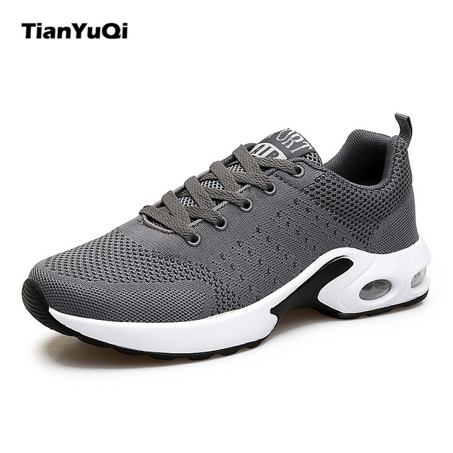 TianYuQi 2017 New men's breathable shoes music rhythm men Casual Shoes men's footwear mesh outdoor fashion shoes