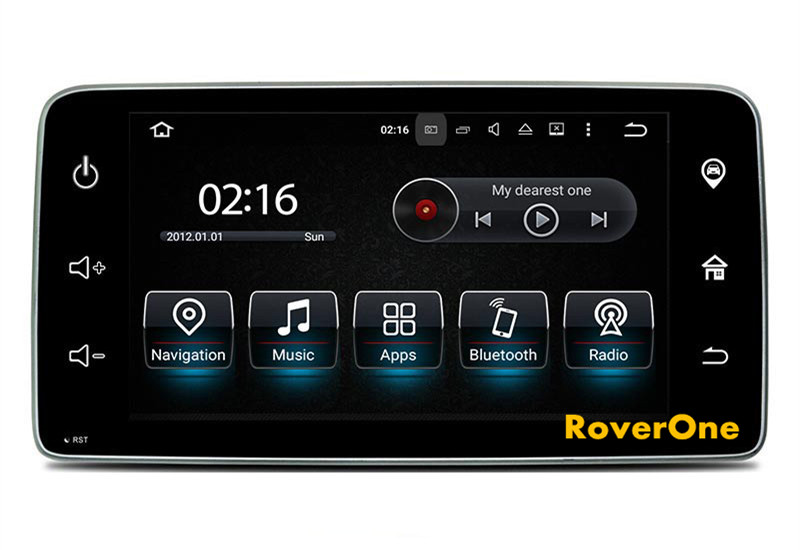 roverone android 7 1 car multimedia system for mercedes. Black Bedroom Furniture Sets. Home Design Ideas