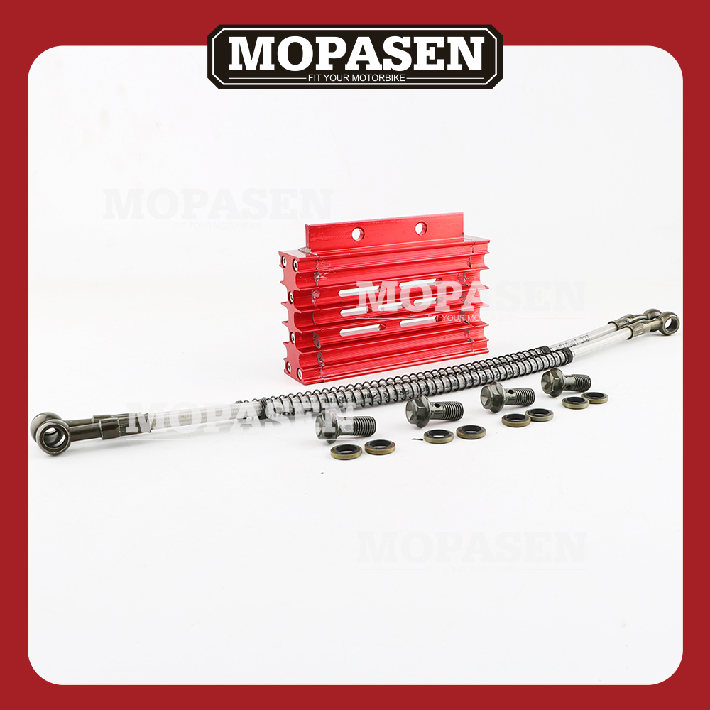 Aliexpress Com Buy Universal Cnc Motorcycle Oil Cooler