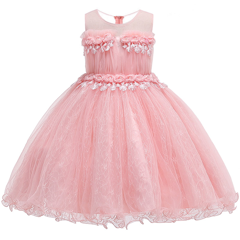 Kids Evening Gowns For Wedding First Communion   Dresses   vestido comunion Lace Appliques Beaded   Flower     Girl     Dresses   vestido