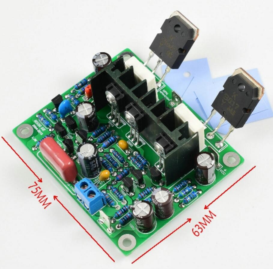 100w Stereo Power Amplifier Diy Kit And Finished Board Excellent Quality 2pcs Hifi Mx50 Se 2.0 Dual Channel 100w Amplifier Home Audio & Video
