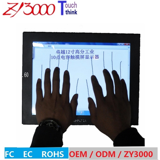10.4 inch capacitive android touchscreen monitor  multi point touch screen monitor