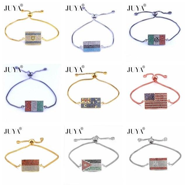 Мужские и женские медные браслеты высшего качества с микрозакрепкой