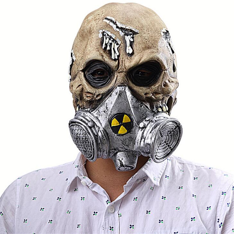 Reasonable 1piece Toxic Biohazard Zombie Gas Mask Skull Vinyl Clock Led Wall Light Remote Control Modern Art Backlight Living Room Interior Back To Search Resultslights & Lighting