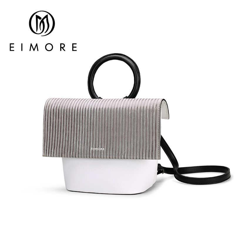 Eimore рюкзак Для женщин из натуральной кожи пакет сумки женские из воловьей кожи для девочек рюкзак простой дизайн Подростка Сумка bolsa