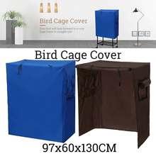 Универсальный чехол для птичьей клетки, чехол с изображением Ловца семян, попугая, вольера, защитная сумка, чехол для юбки, солнцезащитный козырек, дышащие пылезащитные принадлежности для птиц