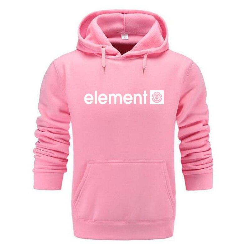 Autumn Winter Brand Mens Hoodies Sweatshirts Men High Quality ELEMENT Letter Printing Long Sleeve Fashion Mens Hoodies 23