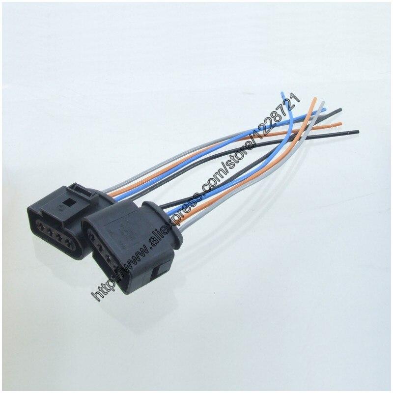 2 шт. 1j0973724 4PIN ремонт автомобилей комплект Катушки зажигания автомобильной Жгуты проводки Plug Провода для A4 A6 RS4 RS6 A8 VW Passat audi