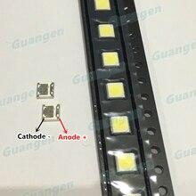 200 pces originais para wooree led backlight 2 w 6 v 3535 150lm branco fresco WM35E2F YR09B eA lcd luz de fundo para aplicação tv