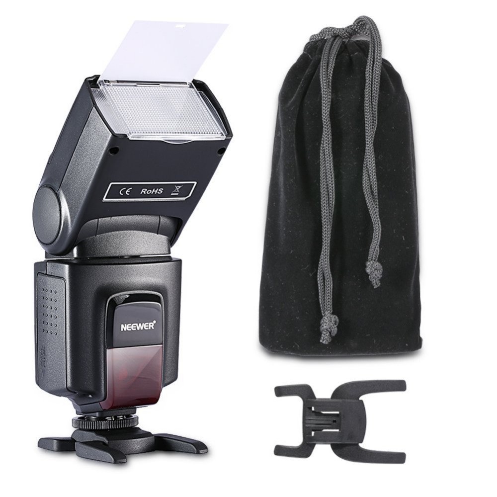 Nuevo TT560 Flash Speedlite Canon 6D/60D/700D/Nikon D7100/D90/D7000/D5300/todas las cámaras con el zapato caliente estándar + Softbox
