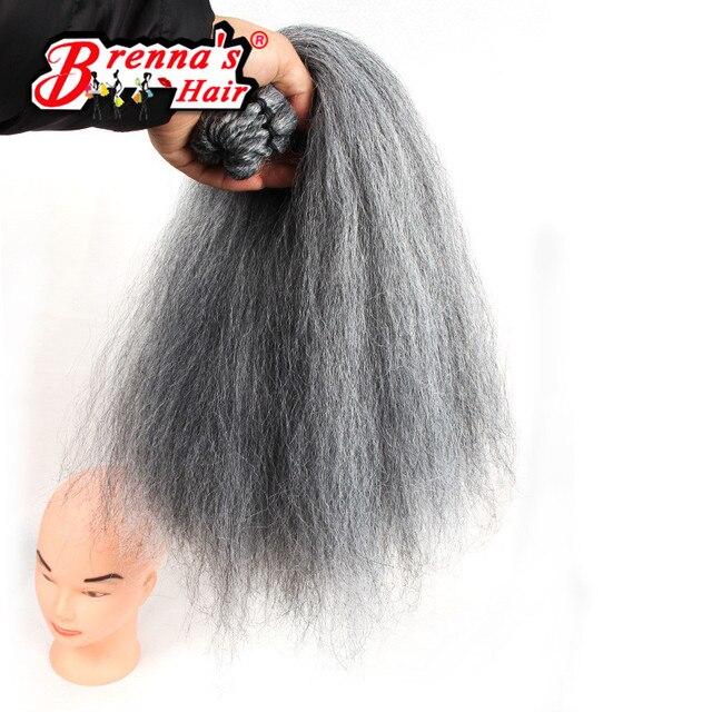 18 Yaki Straight Synthetic Hair Extension Color 1b Pre Loop Crochet
