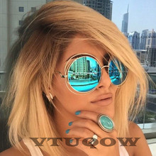 2019 Luxury Brand Round women's Sunglasses Fashion Hue Retro Vintage Female Sunglass Sun Glasses For Women modis gafas ray bann