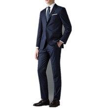 Men's suit fashion elegant men suits gentleman cultivate one's morality groomsman/groom wedding suit two-piece(jacket and pants)