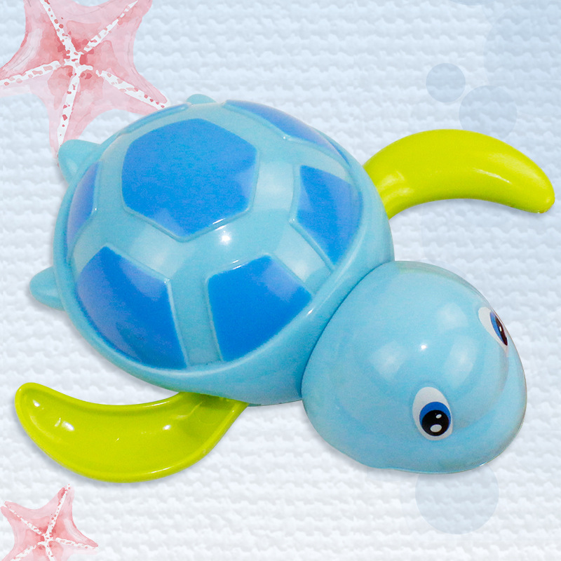 New Baby Hong Kong Bear Baby Bath Playing Water Cool Tour Tortoise Small Animal Children Playing Toys And For Free Shipping