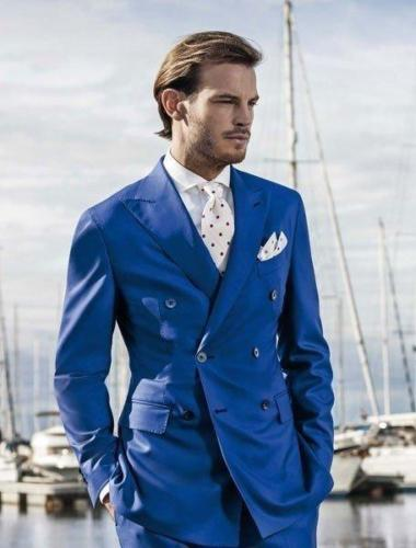Popular 3 Piece Suit Royal Blue-Buy Cheap 3 Piece Suit Royal Blue