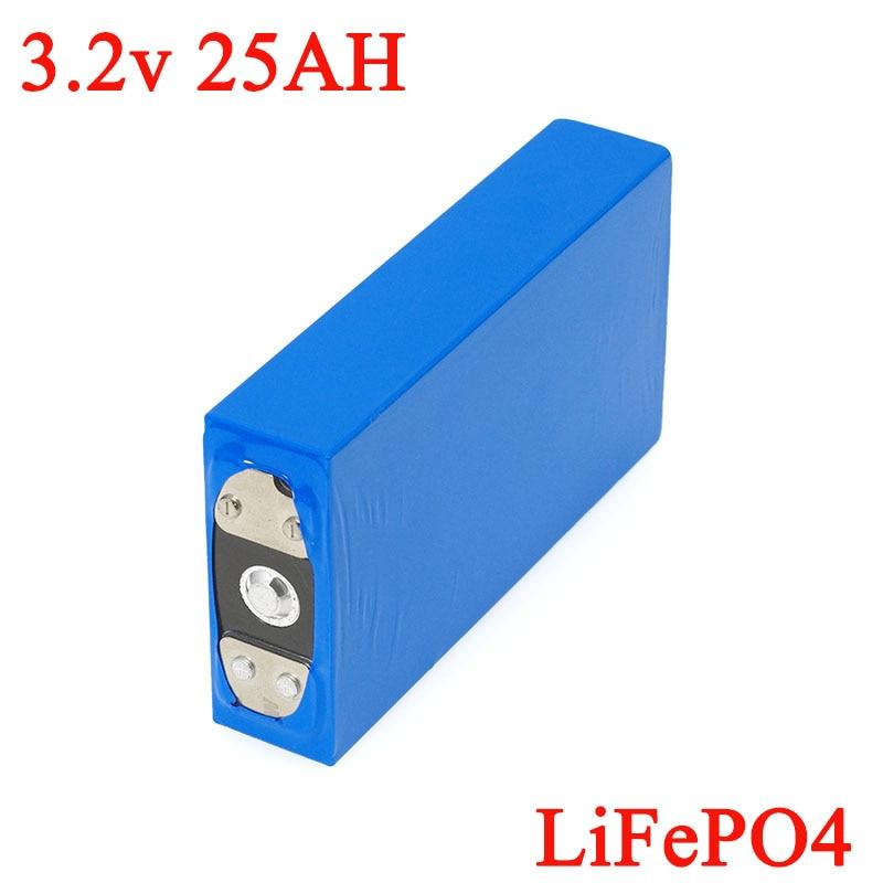 3.2 V 25Ah batterie pack LiFePO4 phosphate grande capacité 25000 mAh moto voiture électrique moteur batteries modification