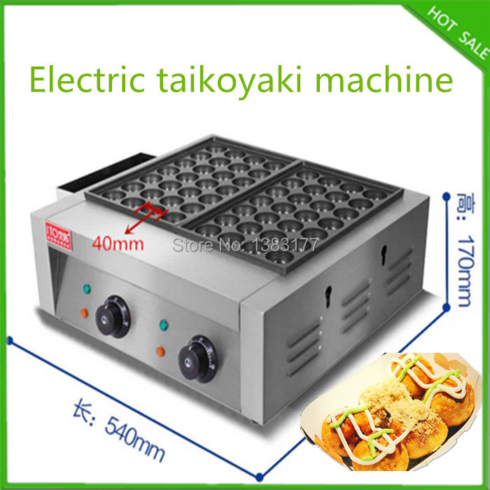 free shipping stainless steel fish ball takoyaki pan 2 plates electric takoyaki grill machine free shipping as type takoyaki maker making machine taiyaki plate machine fish ball machine takoyaki grill takoyaki plates