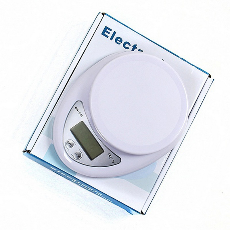 5kg/1g Kitchen Digital Scale High Quality Precision Weighing Food Health Diet Measuring  Electronic Scale Balance Jewelry Scale