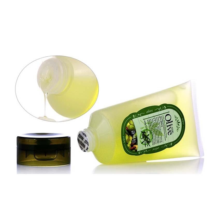 Korean Cosmetics Olive Cleansing Gel Oil Makeup Remover Shrink Pores Cleanser Quick Dissolve Deep Purify Moist Mild