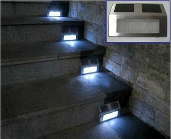 Solar Light Lawn LED Corridor Lights Solar Garden Lamp Wall Light Outdoor  Lighting Free Shipping By