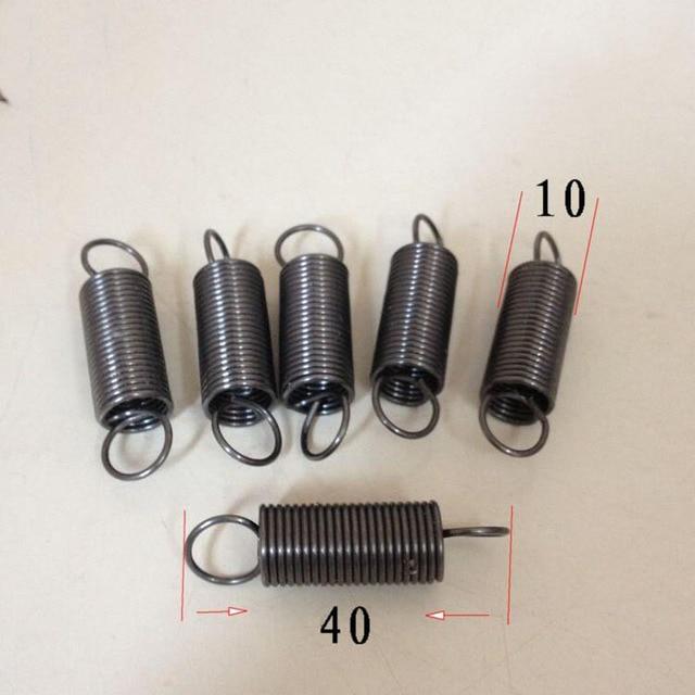 Zugfeder retractive zugfeder mit haken draht 1,0 MM durchmesser 10 ...