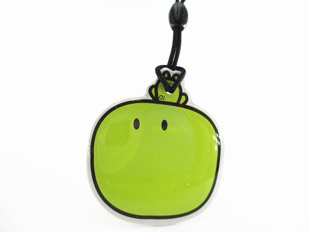 5pcs/lot cartoon green apple 125Khz RFID Writable Rewrite Proximity ID Token Tag Key Keyfobs blank card