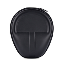 Protection Carrying Hard Case Bag Storage Box For Headphone Earphone Headset Black Color