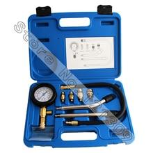 Automotive Diesel Petrol Engine Compression Tester Test Kit Gauge Motorcycle Tool Set