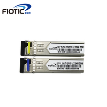 SFP 1.25G LC connector gigabit 1000BASE-LX 1310nm 1550nm 20km DDM BIDI GLC-LH-SM simplex LC Optical Fiber Transceiver module wholesales new 10pcs lot for cisco glc lh smd sfp optic module 1000base lx lh 1 25g 1310nm smf ddm 10km duplex lc connector
