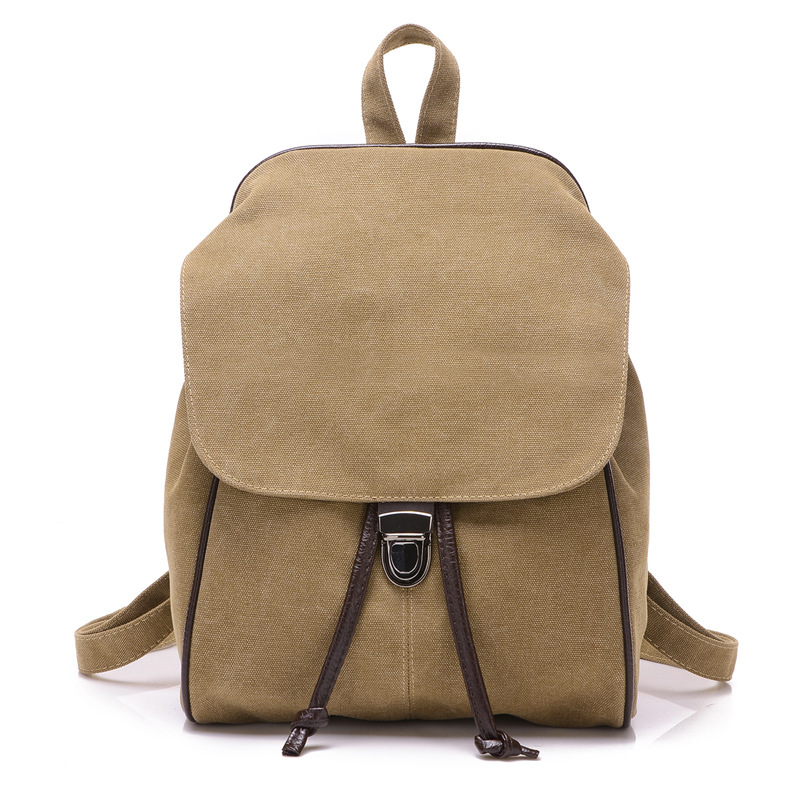 Vintage Backbag 2017 Fashion Retro Casual Canvas Backpack Mochila Escolar School Bags For Teenagers Girls Students