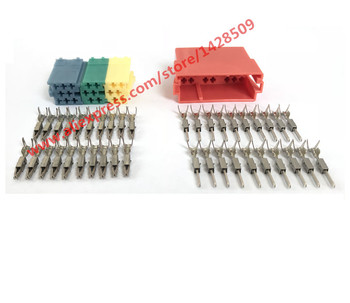 10 Sets Universal Female ISO Radio connector ISO Adapter Connector car radio connector car radio iso connector for VW Audi Skoda фото