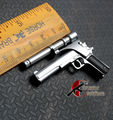 "HT 1/6  AccessoriesT1 Terminator T800 Arnold M1911 Pistol Gun F 12"" Male Solider Model Toys For 12"" Action Figure Collectible"