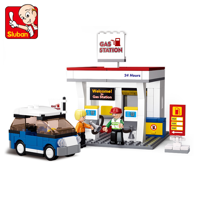 167pcs little Small Luban building blocks car styling model toys for children Compatible Lego mini Educational lepin blocks lepin 02012 city deepwater exploration vessel 60095 building blocks policeman toys children compatible with lego gift kid sets