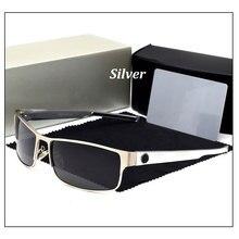 Polarized Men Sunglasses Rectangle Brand Designer Male Okula