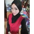 J117-Free shipping Under Scarf Hat Cap Bone Bonnet Muslim Hijab Islamic Neck Cover Inner Head Wear-Y107