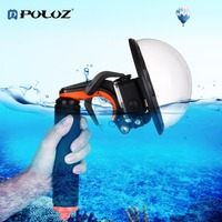 PULUZ Dome Port Waterproof Shell Water Mirror Mask Floating Hand Grip Tripot For Hero5 Sports Camera